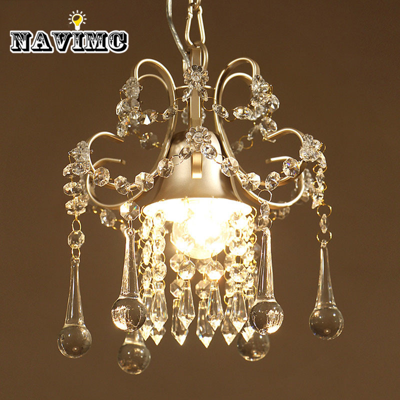 Country Gold/White Crystal Chandeliers Lighting Rain Drop for Dining Room Kitchen Bedroom Restaurant Hanging Lamp modern crystal chandelier hanging lighting birdcage chandeliers light for living room bedroom dining room restaurant decoration