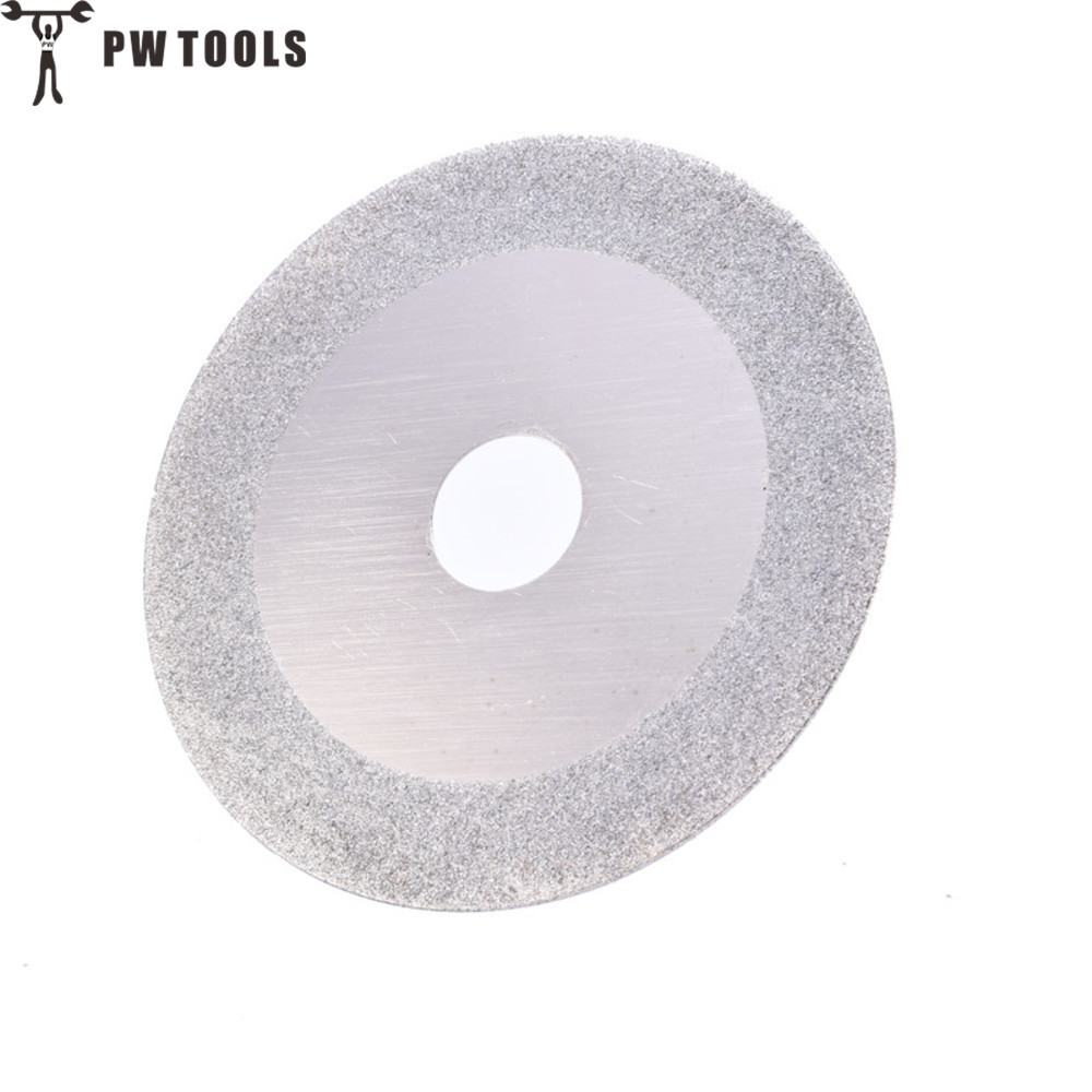 PW TOOLS 100 Mm Silver Diamond Grinding Wheel Polishing Disc Pads Grinder Angle Grinder Rotary Tool For Grinding Stone Glass