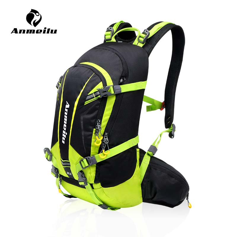 99f2d3a66197 Anmeilu 20L Bicycle Shoulders Bag Large Capacity Outdoor Hiking Climbing  Cycling Backpack Camping Downhill Mountain Bike Bag-in Bicycle Bags    Panniers from ...