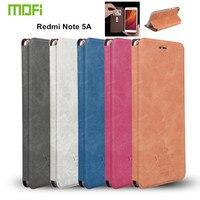 Original Mofi For Xiaomi Redmi Note 5A Case Flip Cover PU Leather Case For Redmi Note