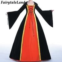 Queen Cosplay costume Carnival Halloween Fancy Lolita Dresses Custom made Party Princess Dress