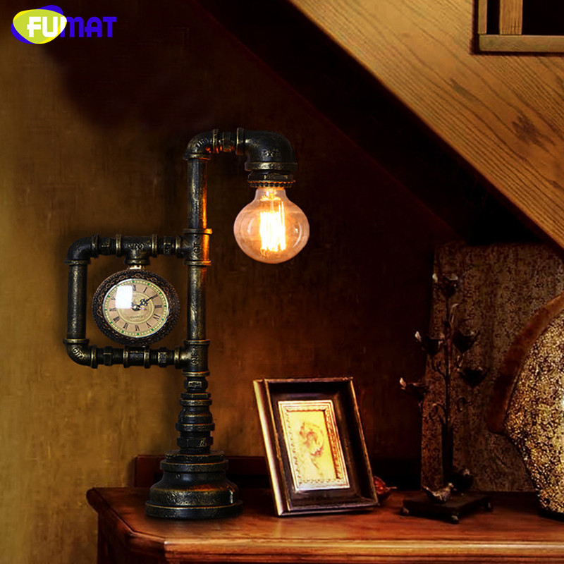 Water Pipe Table Lamp 14