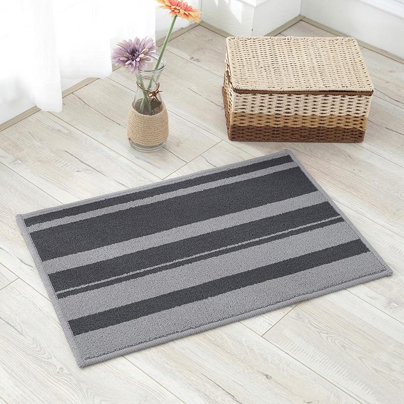 Us 5 50 Off Non Slip Bath Mats Northern Europe Bathroom Mat Rug Carpets For Toilet Living Room Bedroom Floor Striped In