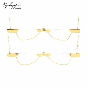 Image 2 - NR003 Eyekepper Folding Reading Glasses Pendant Necklace Mini Readers Eyeglasses