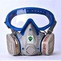 Противогаз с очки полный защитную маску abti пыли краски, химические маски активированный уголь fire escape breathing apparatus