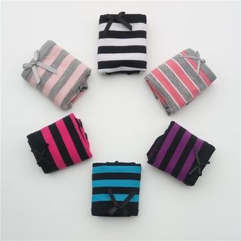 e9bfa1a71 FUNCILAC Free shipping 5pcs lot New Women s cotton panties Girl Briefs Ms.  ...
