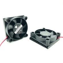 3D Printer 5010 Cooling fan Aluminium Cooler Heatsink 50mm 24V 12V 5V Brushless 5CM DC Fans Radiator 50x50x17MM