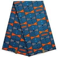 African Fabric Veritable Dutch Real Wax Hollandais Wax African Printed Fabric 100 Cotton Nigeria AS1251