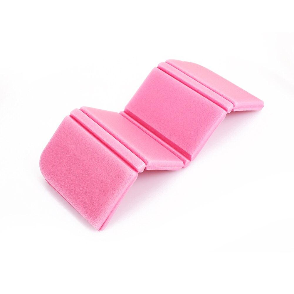8 цветов коврик для отдыха на природе Мягкий складной походный коврик для пикника Рыбалка на открытом воздухе 275 мм влагостойкая Сидящая Подушка пляжный парк - Цвет: pink