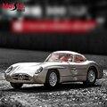 Mercedes-Benz 300SLR Maisto 1:18 Масштаб Модели Автомобилей Сплава Игрушки Diecasts и Toy Транспорт Коллекция Для Детей Рождественские Подарки