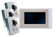 """YobangSecurity Video Doorbell 7""""Color Video Door Phone Intercom Doorbell Unlock Indoor Monitor Rainproof Night Vision IR Camera"""