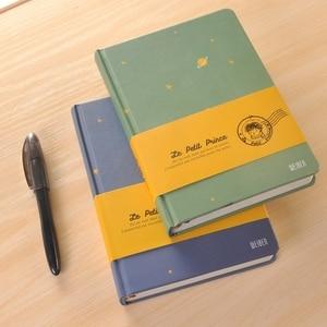Image 4 - Neue Ankunft Vintage Kleine Prinz Notebook Farbe Papier Hardcover Tagebuch Buch Schule Bürobedarf Schreibwaren