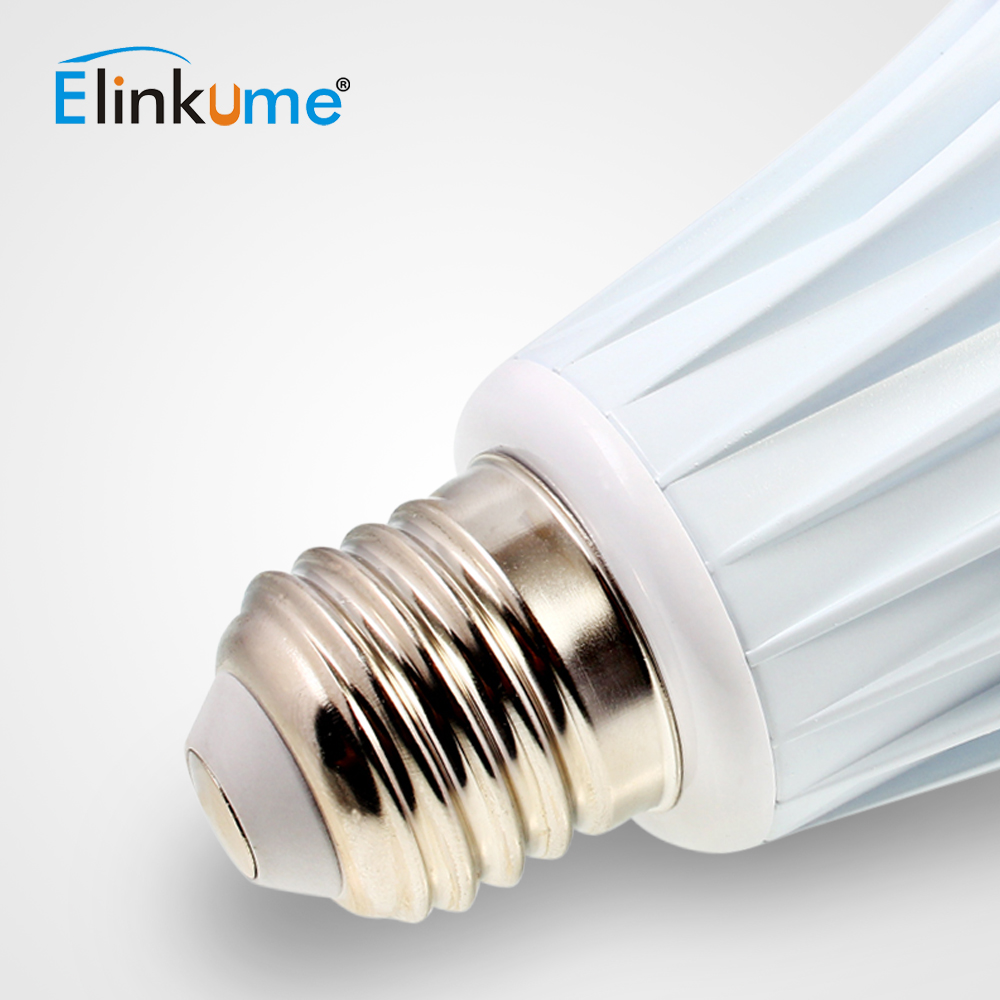 ELINKUME lumière LED ampoule Bluetooth Dimmable E27 7 W coloré Wifi intelligent 1 pièces lampe d'éclairage sept couleurs RGBW ampoule maison lumière - 5