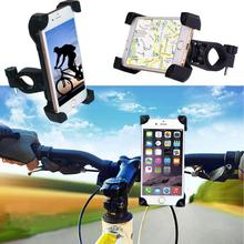 New Universal Durable Motorcycle Rotating 360 Degrees X-Grip Clamp Mount MTB Bike Bicycle Phone GPS Mount Holder For CellPhone