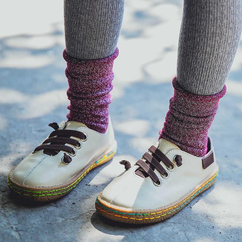 Осень-зима 2016, короткие носки для маленьких мальчиков и девочек 1-10 лет, новый дизайн, зимние Плотные хлопковые носки с люрексом для малышей, c910