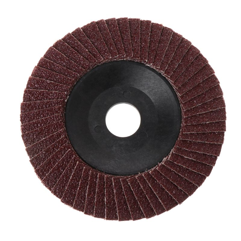 Abrasive 100mm Polishing Grinding Wheel Quick Change Sanding Flap Disc For Grit Angle Grinder 80 Grit