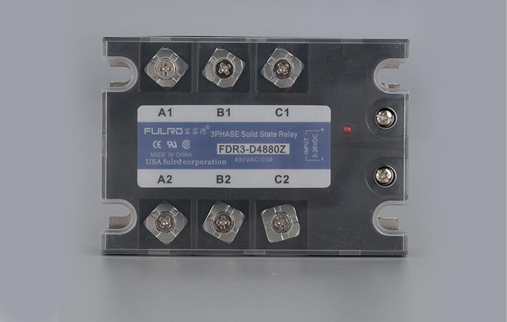 Three-phase solid state relay DC-AC DC3-36V Control AC24-480V 50A 80A 100A 120A JGX-3 genuine three phase solid state relay mgr 3 032 3880z dc ac dc control ac 80a