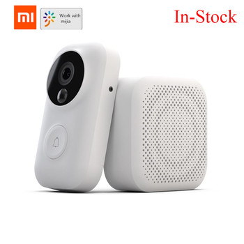 Xiaomi Zero AI Face Identification 720P IR Night Vision Video Doorbell Set Motion Detection SMS Push Intercom Free Cloud Storage vq30det エキマニ