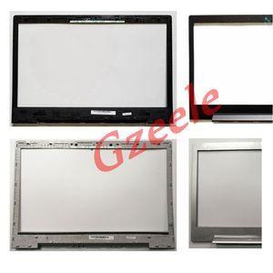 GZEELE New bezel cover for Lenovo IdeaPad U330 U330P no-Touch lcd front bezel case B shell Display Frame LCD Bezel black silver