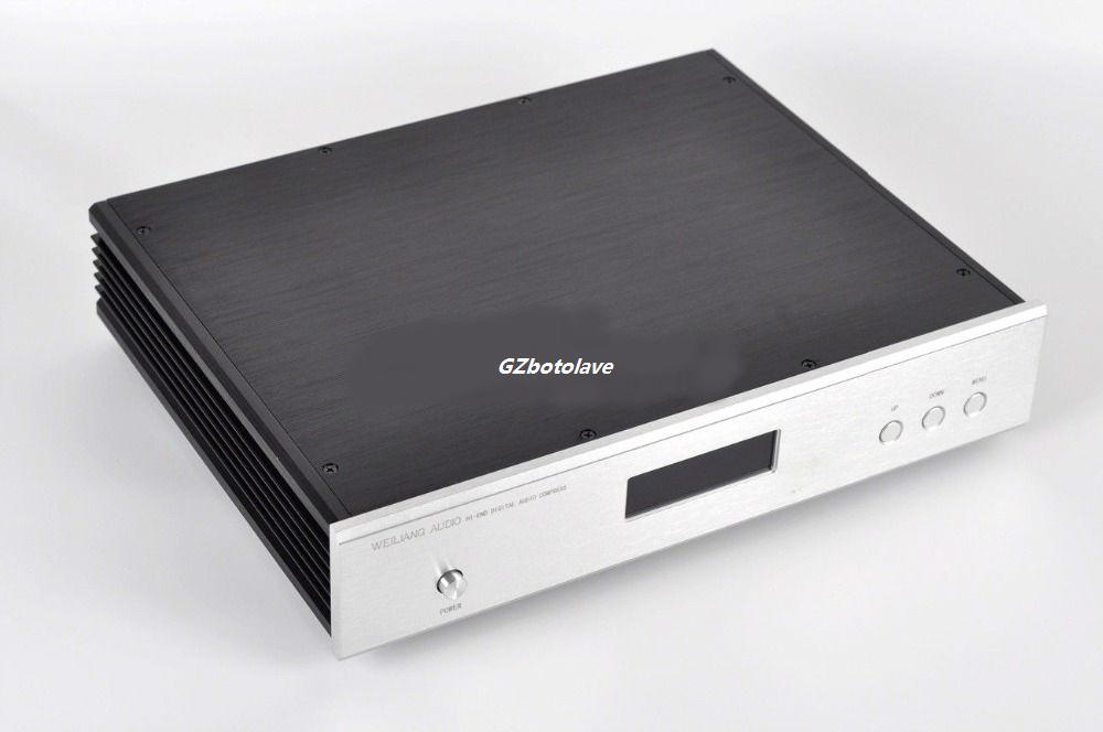 NEW HiFi ES9018 ES9028PRO ES9038PRO+XMOS U208 USB DAC 32Bit/384K DSD 64/128/256 XLR Output Talema transformers DAC Decoder цена