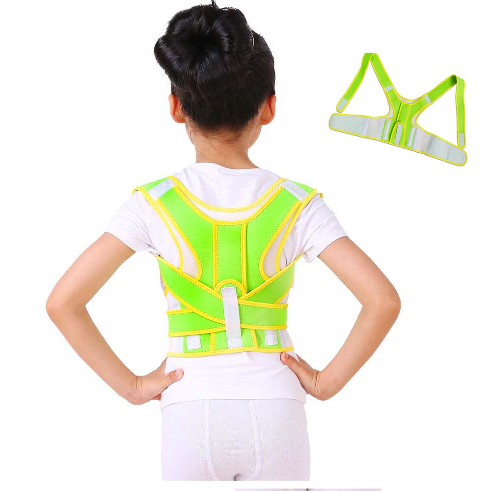 Professional Children Back Posture Brace Corrector Shoulder Support Band Belt Posture Correct Belt Prevent Hunchback Wholesale