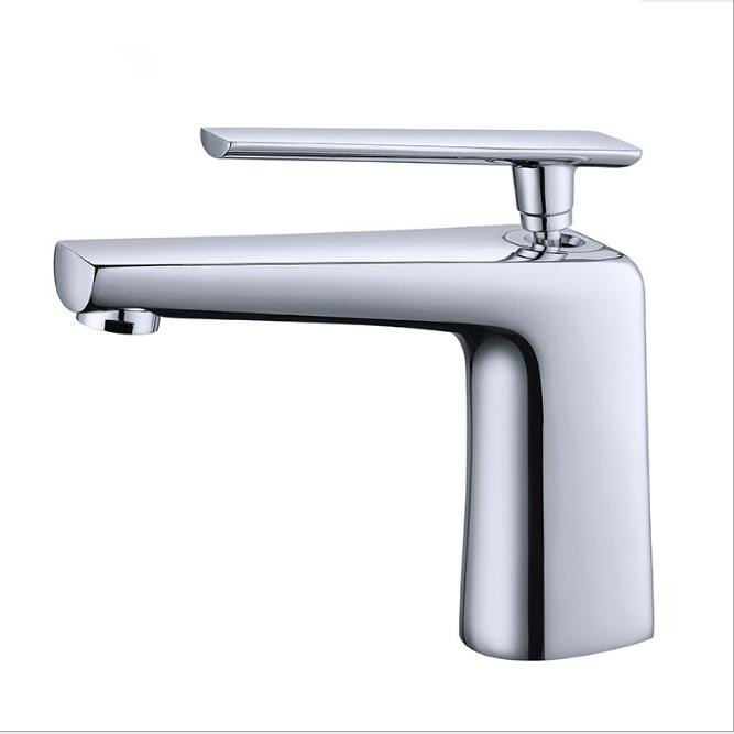 High Quality Modern Chrome Water Mixer Basin Sink Tap Bathroom Brass Waterfall Faucet toilet Basin Mixer Hot Cold Water nieneng big discount basin washroom mixer bathroom faucet tap mixers wc sanitary ware water toilet taps polished chrome icd60157