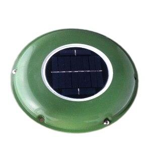 Image 4 - Wentylator słoneczny automatyczny wentylator używany do przyczep kempingowych zielony dom łazienka
