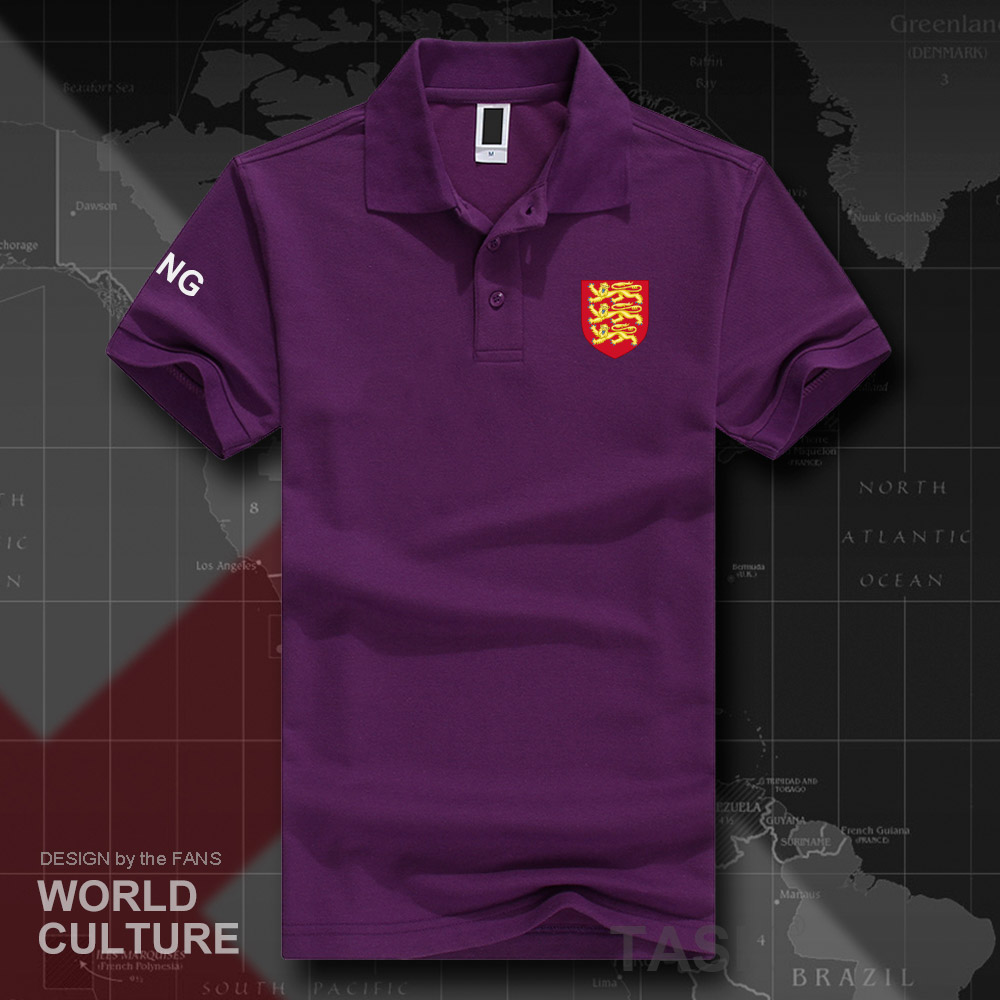 England English ENG UK polo shirts men short sleeve white brands printed for country 2018 cotton nation team flag new fashion 20