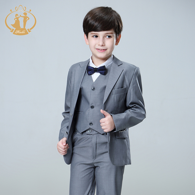 Nimble 5pcs/Set Boys Suits For Weddings Kids Prom Suits Wedding ...