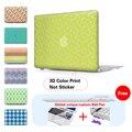 """Геометрическая Сетка Структуры Жесткий Пластиковый Кейс Для Ноутбука Shell Обложка Для Mac Book Pro 13 Case 13 """"7-дюймовый Чехол Для Ноутбука Обложка A1502"""
