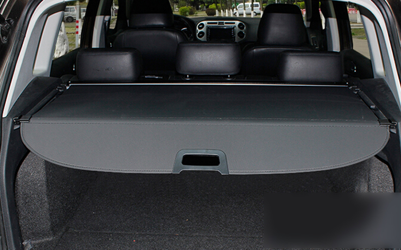 For Volkswagon VW Tiguan 2010-2015 Black Cargo Cover Security Shield 1 set все цены