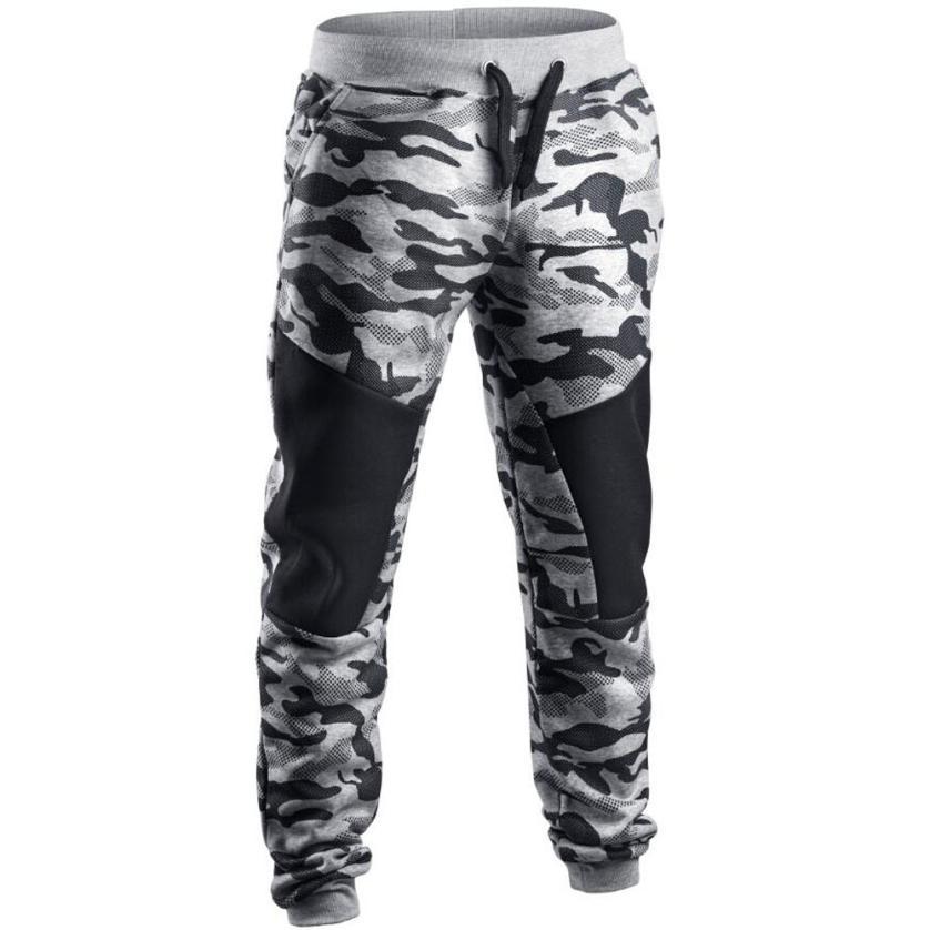 Men Casual Pants 2019 Male Brand Straight Trousers Camouflage Long Pants Cotton Sweatpants Jogger Tracksuit Funky Sweatpants