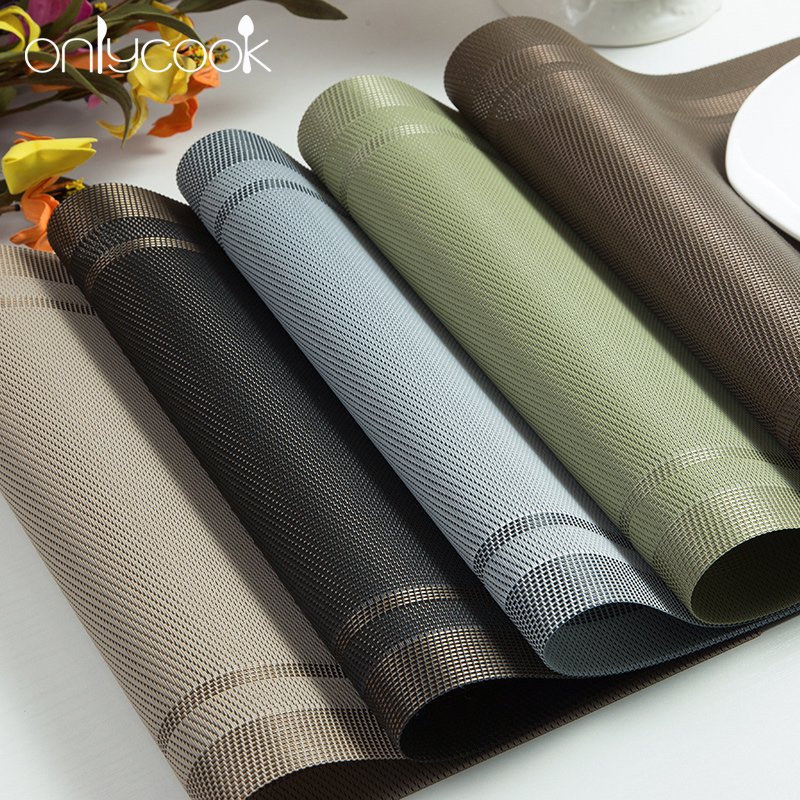 Popular Black Placemats Buy Cheap Black Placemats Lots