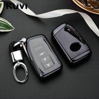 Caso Chave do carro Cobertura Fob Para Lexus RX270 ES250 NX200t E200 CT200h GS É NS chave proteger Tampa shell Acessórios styling
