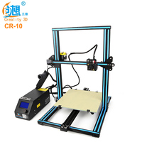 Creality3D CR 10 3D Desktop DIY Printer Large Size LCD Screen Display With SD Card Off Line Printing Function 3d Printer Kit