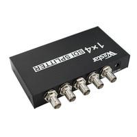 High Quality SDI Splitter 1x4 Multimedia Splitter SDI Extender Adapter Support 1080P TV Video For Projector