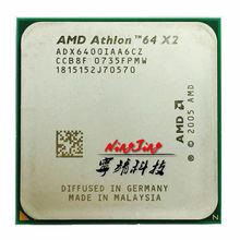 AMD Athlon 64X2 6400X2 6400 + 3.2 GHz מעבד מעבד ליבה כפולה Socket AM2 ADX6400IAA6CZ