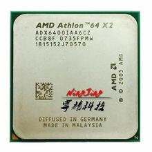 AMD Athlon 64X2 6400X2 6400 + 3.2 GHz dwurdzeniowy procesor cpu ADX6400IAA6CZ gniazdo AM2