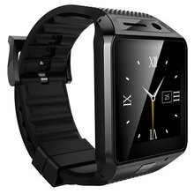 SIM TF Stainless Steel Touch font b Smartwatch b font Bluetooth 3 0 Heart Rate Monitor