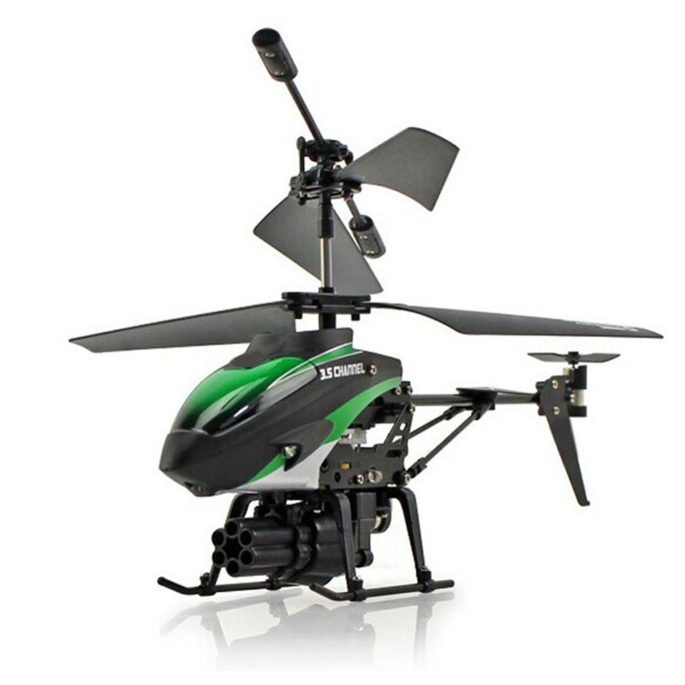 LeadingStar WLToys V398 Cool Missile Launching 3.5CH RC Remote Control Helicopter With Gyro Quadcopter christmas gift for boy
