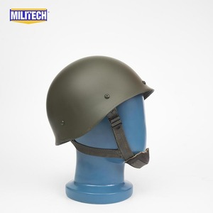 Image 5 - Militech Oliver Drab OD Green French F1 Model 1978 Version Steel Paratrooper High Quality Repro Collection Helmet