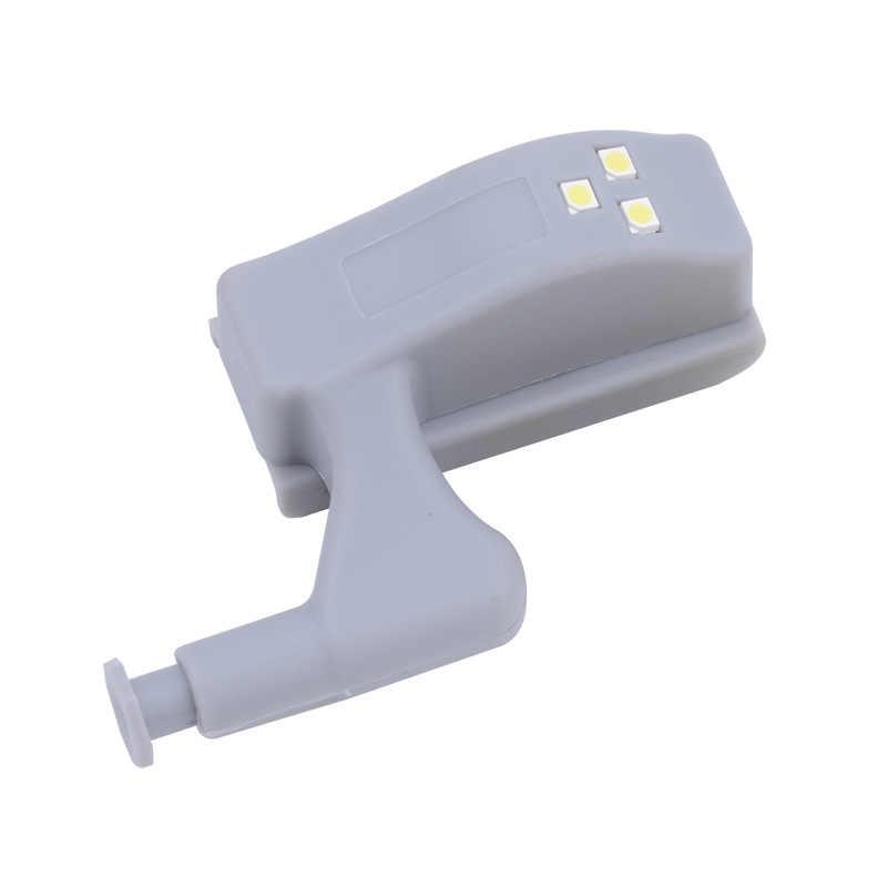 Светодиодный светильник под шкаф, Универсальный светильник для гардероба, сенсорный светодиодный внутренний шарнирная лампа Armario для кухонного шкафа