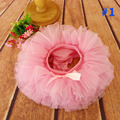 Baby Tutu Bloomer Diaper tutu skirt 7 colors Girls make up skirt Baby Photo Props Costumes Birthday Party Outfits 1set TS029