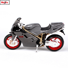 Maisto 1:18 16 styles Ducati NO748 original authorized simulation alloy motorcycle model toy car gift collection