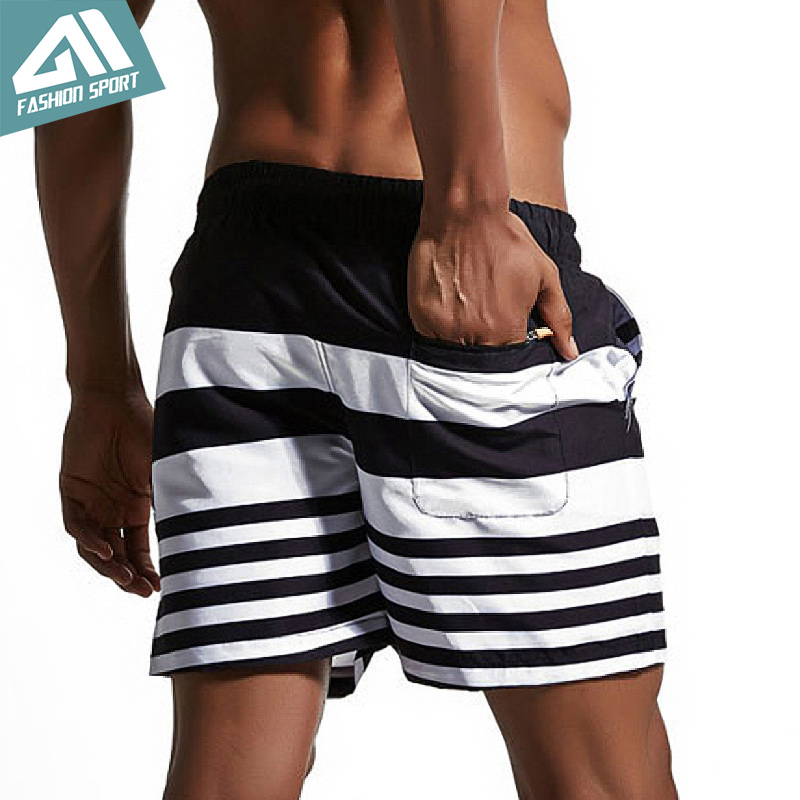 Summer Mens   board     shorts   Men Surfing Beach Swim   shorts   Lining Liner Athletic Sport Gym   Shorts   Running Holiday Swimwear AM1702
