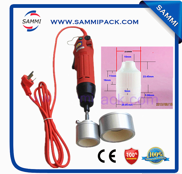 good sale Electric handheld capper/manual plastic bottle capping machine electric sale rig