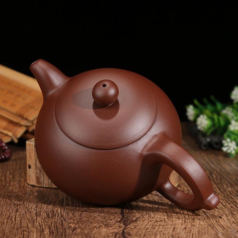 290 мл Аутентичные Исин фиолетовый чайник глины сырой руды zi грязи xishi Zisha горшок Керамика Утварь для дома Tieguanyin пуэр чайники подарки