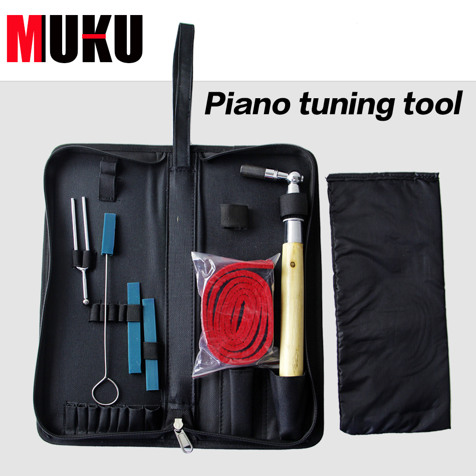 Grand Piano Tuner Kit Upright Piano Tuning Tool Piano Parts Accessories professional 13 in 1 piano tuning maintenance tuning tool kit with portable pu leather case easy operate