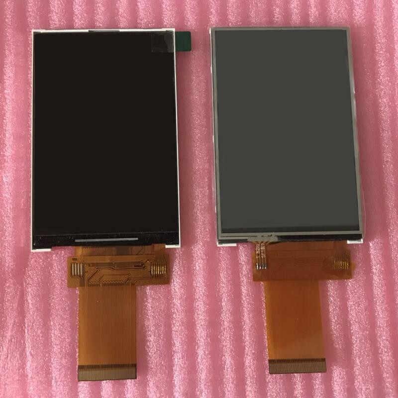 شاشة ملونة 3.5 بوصة IPS عرض كامل TFT LCD عرض ILI9481 لوحة اللمس 320x480 40P التوصيل في موصل مقبس PCB محول