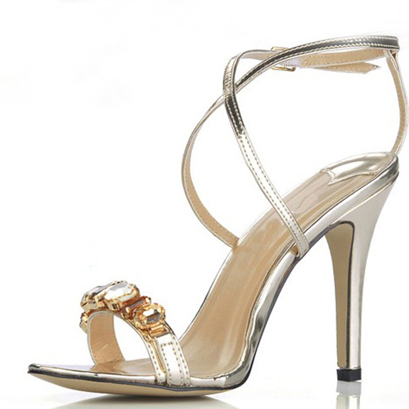 Size  Silver Evening Shoes